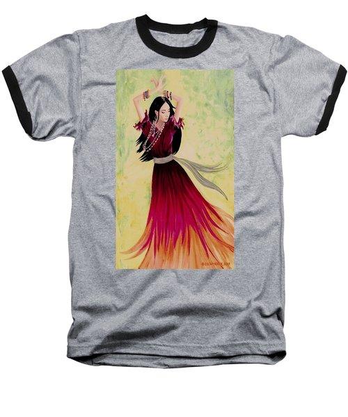 Gypsy Dancer Baseball T-Shirt by Sophia Schmierer