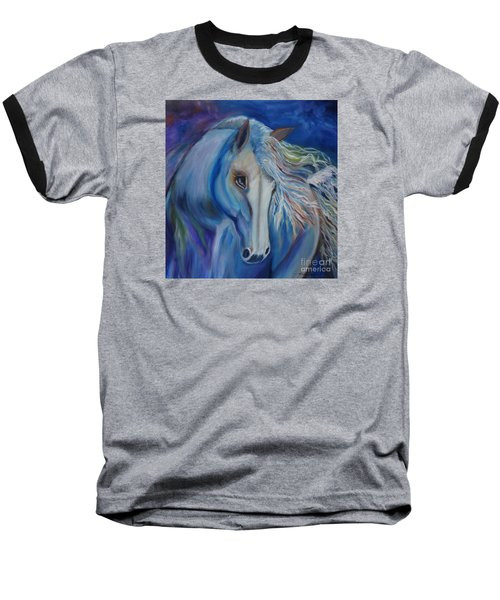 Baseball T-Shirt featuring the painting Gypsy Shadow by Jenny Lee