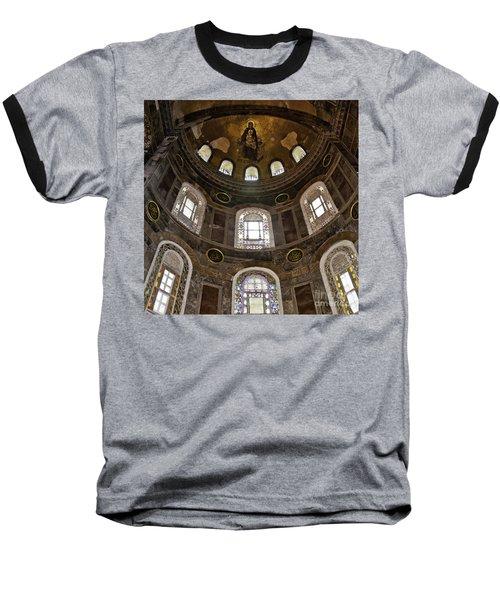 Hagia Sofia Interior 06 Baseball T-Shirt by Antony McAulay