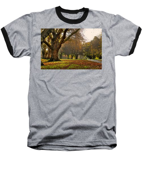 Hagley In Autumn Baseball T-Shirt