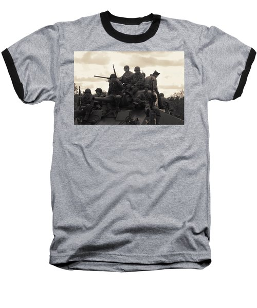 Hail To The Victors Baseball T-Shirt by Lyle Hatch