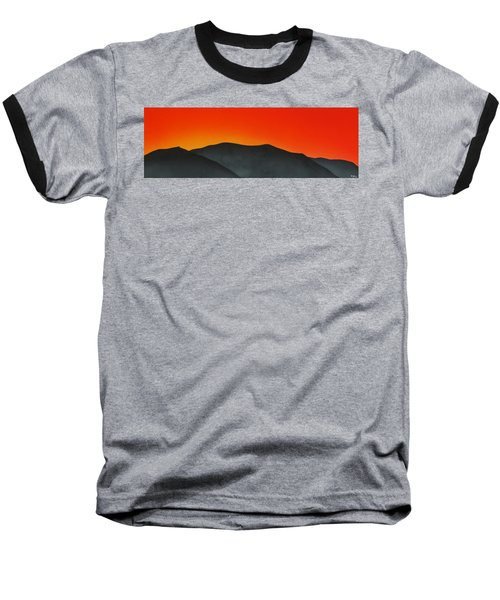 Hakarimata Sunset Baseball T-Shirt