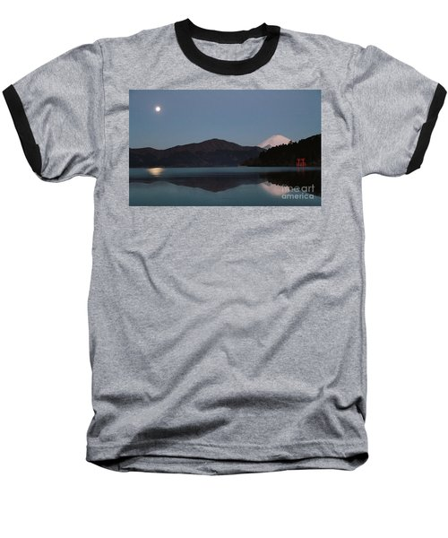 Hakone Lake Baseball T-Shirt