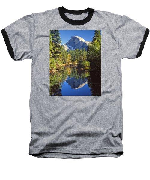 2m6709-half Dome Reflect - V Baseball T-Shirt