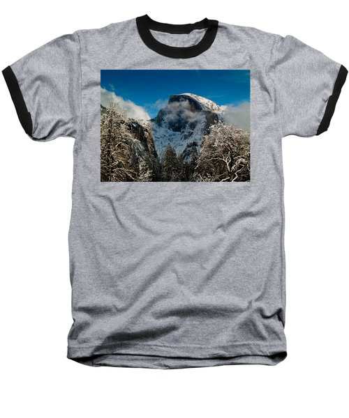 Half Dome Winter Baseball T-Shirt
