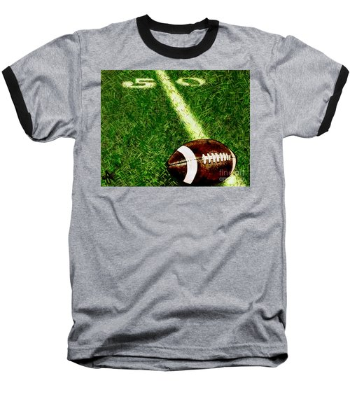 Halfway There  Baseball T-Shirt by Jackie Carpenter