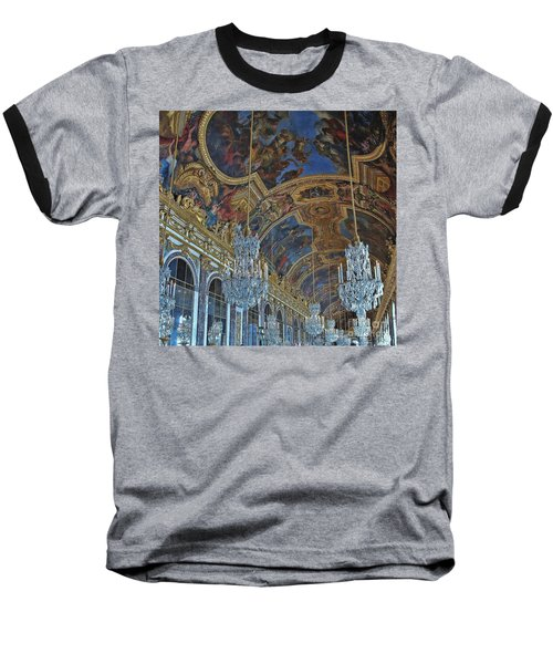 Hall Of Mirrors - Versaille Baseball T-Shirt