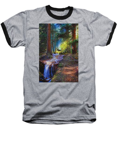 Hall Valley Moose Baseball T-Shirt by J Griff Griffin