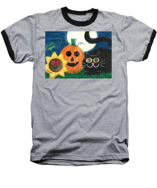 Halloween Fun Baseball T-Shirt