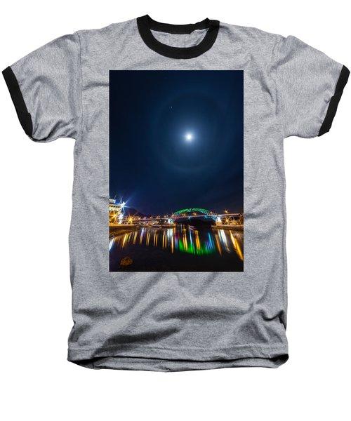 Halo Above The Bridge Baseball T-Shirt