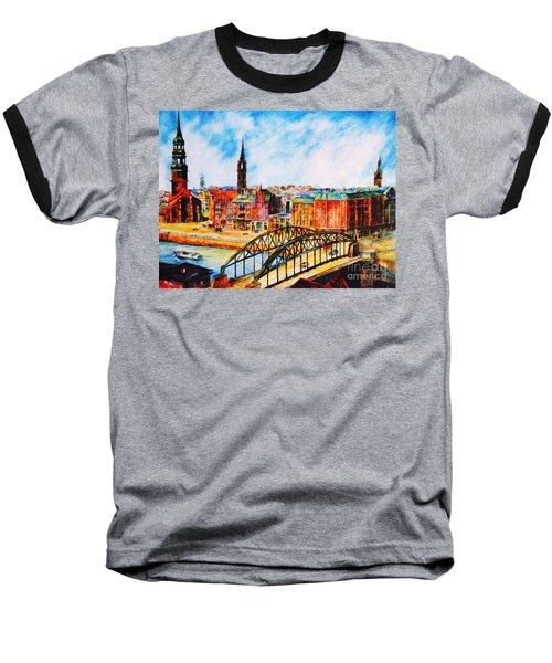 Hamburg - The Beauty At The River Baseball T-Shirt