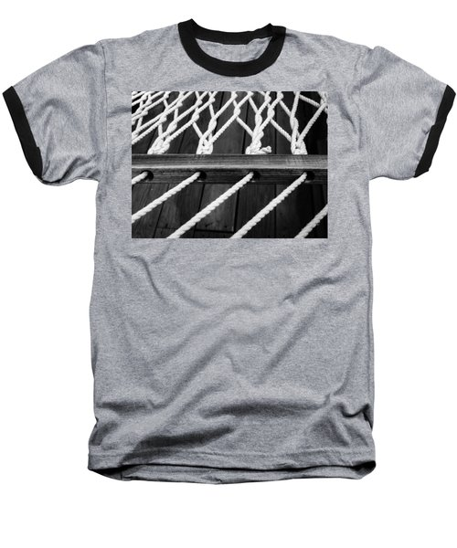 Baseball T-Shirt featuring the photograph Hammock by Julia Wilcox