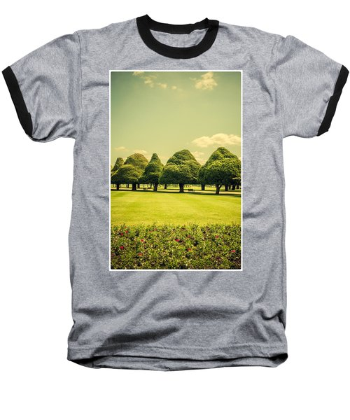 Hampton Court Palace Gardens Summer Colours Baseball T-Shirt