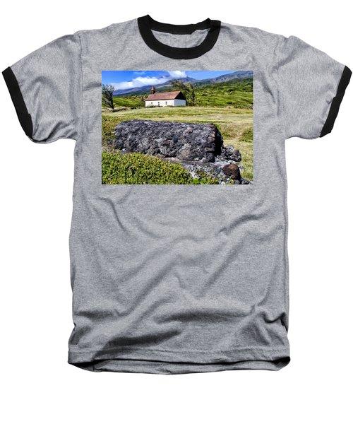 Baseball T-Shirt featuring the photograph Hana Church 3 by Dawn Eshelman
