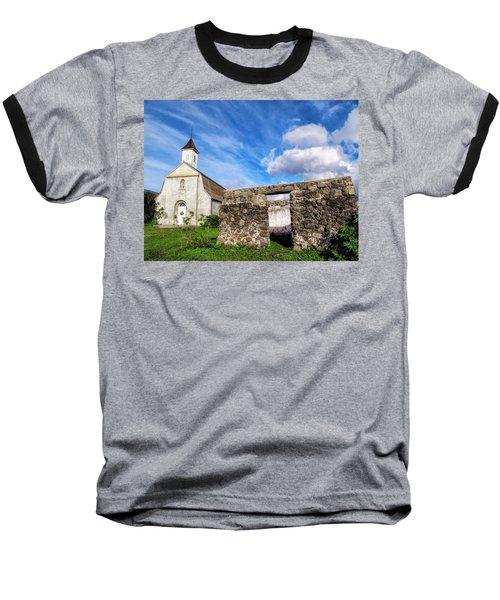 Baseball T-Shirt featuring the photograph Hana Church 8 by Dawn Eshelman