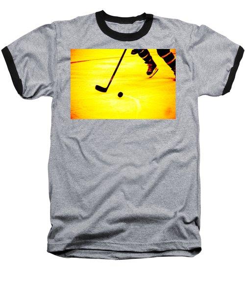 Handling It Baseball T-Shirt by Karol Livote