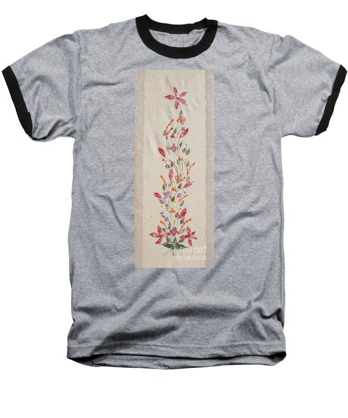 Baseball T-Shirt featuring the photograph handmade paper from Madagascar 2 by Rudi Prott