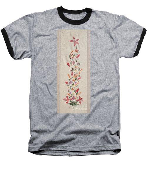 handmade paper from Madagascar 2 Baseball T-Shirt by Rudi Prott