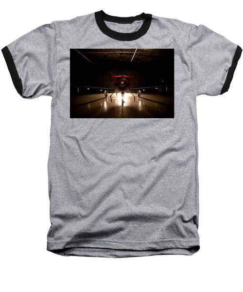 Hanger Light Baseball T-Shirt by Paul Job