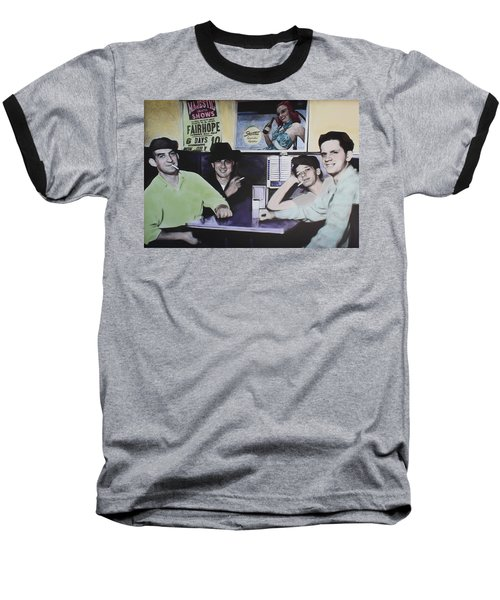 Hanging At The Diner 1949 Baseball T-Shirt