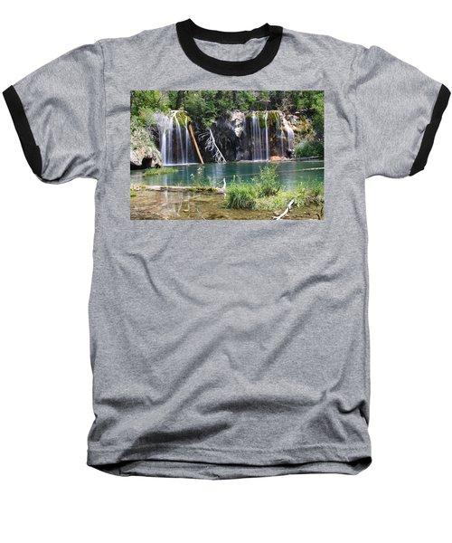 Hanging Lake Baseball T-Shirt by Eric Glaser