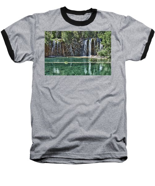 Hanging Lake Baseball T-Shirt by Priscilla Burgers
