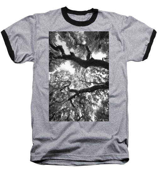 Baseball T-Shirt featuring the photograph Hanging Moss by Bradley R Youngberg