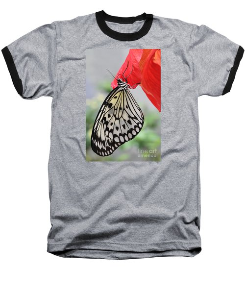 Baseball T-Shirt featuring the photograph Hanging On #2 by Judy Whitton
