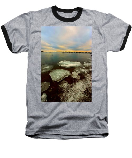 Baseball T-Shirt featuring the photograph Hanging On by Amanda Stadther