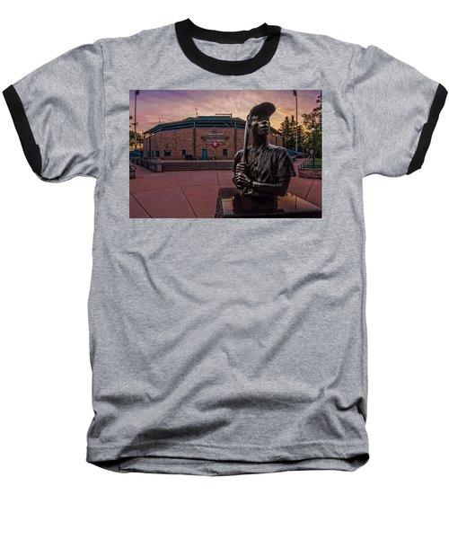 Hank Aaron Statue Baseball T-Shirt
