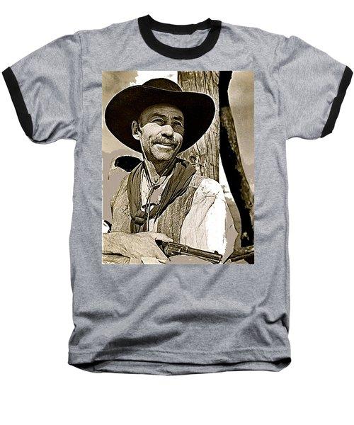 Hank Worden Publicity Photo Red River 1948-2013 Baseball T-Shirt by David Lee Guss