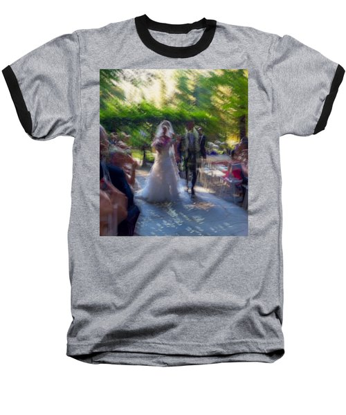 Baseball T-Shirt featuring the photograph Happily Ever After by Alex Lapidus