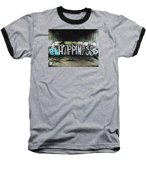 Happiness Baseball T-Shirt