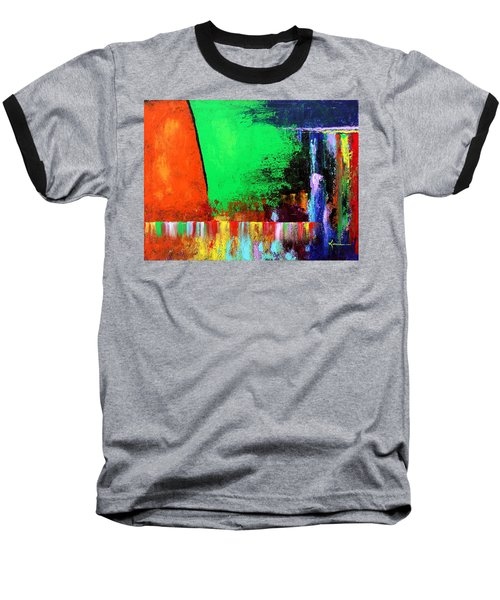 Baseball T-Shirt featuring the painting Happiness by Kume Bryant