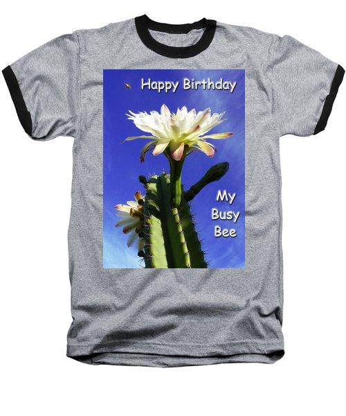 Happy Birthday Card And Print 14 Baseball T-Shirt