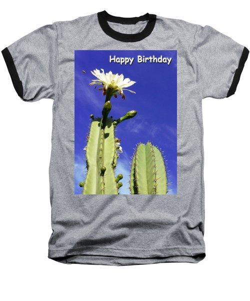 Happy Birthday Card And Print 17 Baseball T-Shirt