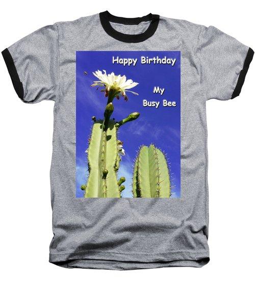 Happy Birthday Card And Print 22 Baseball T-Shirt
