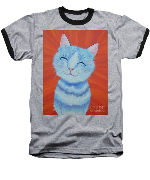 Happy Cat Baseball T-Shirt