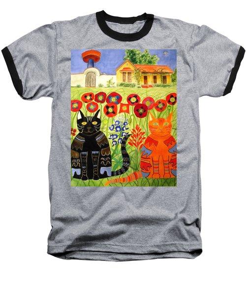Happy Cats Baseball T-Shirt