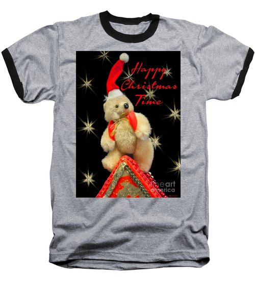 Happy Christmas Baseball T-Shirt