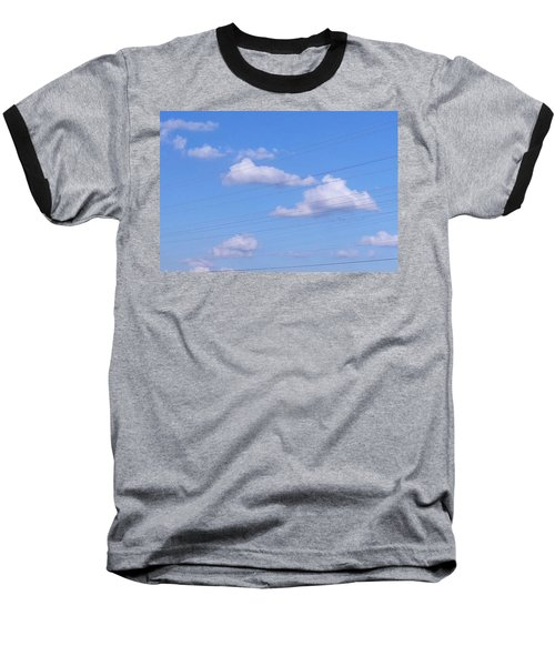 Happy Cloud Day Baseball T-Shirt