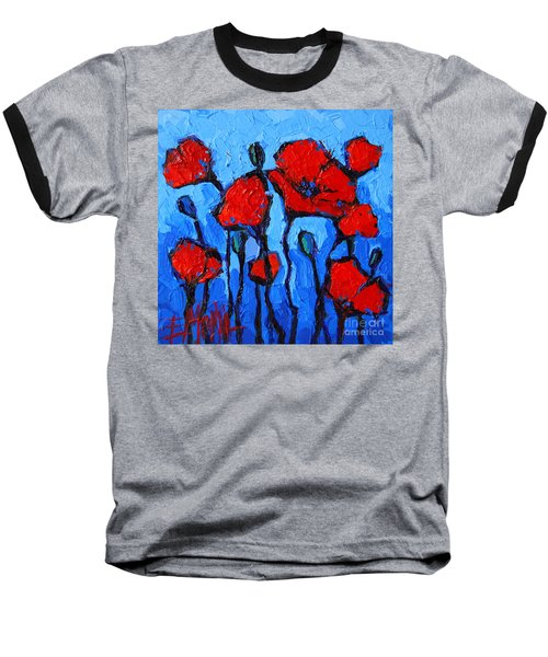 Happy Coquelicots Baseball T-Shirt