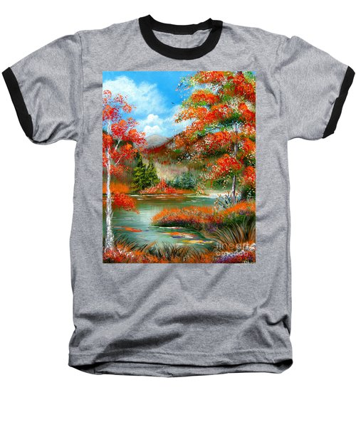 Happy Ever After Autumn  Baseball T-Shirt