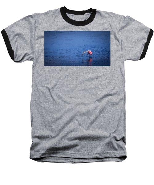 Happy Spoonbill Baseball T-Shirt