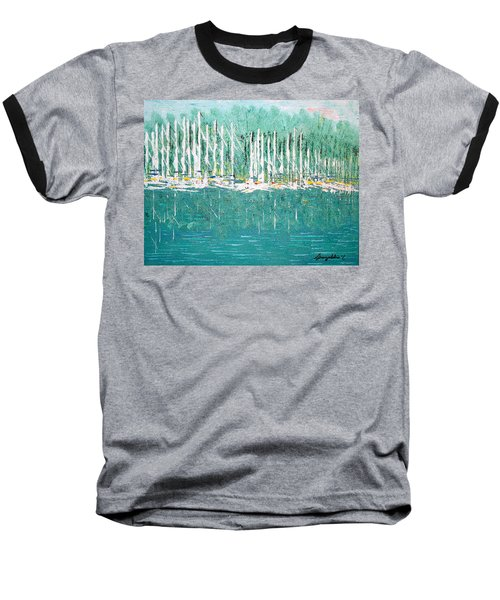 Harbor Shores Baseball T-Shirt by George Riney