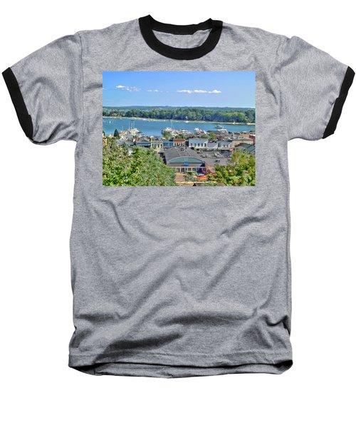 Harbor Springs Michigan Baseball T-Shirt by Bill Gallagher