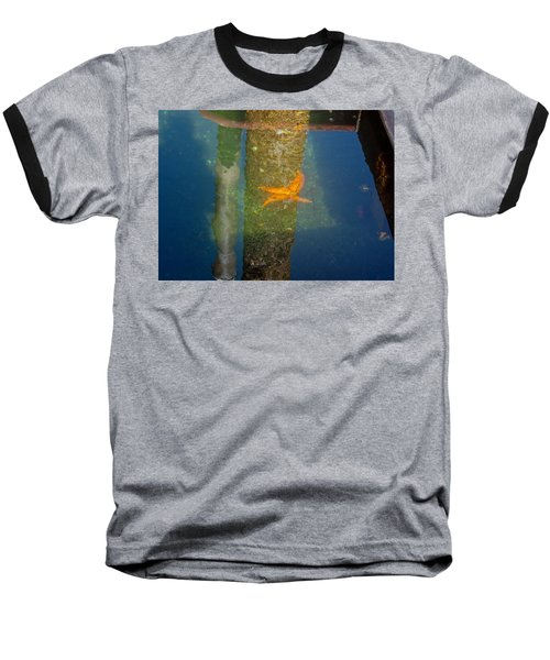 Harbor Star Fish Baseball T-Shirt