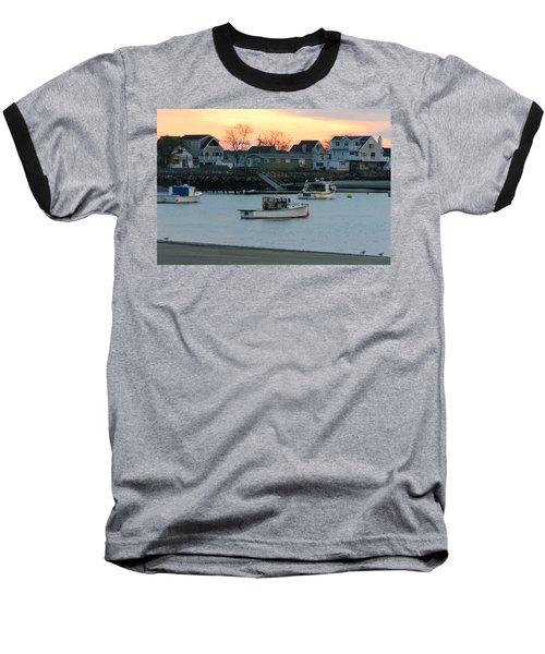 Harbor Sunset Baseball T-Shirt