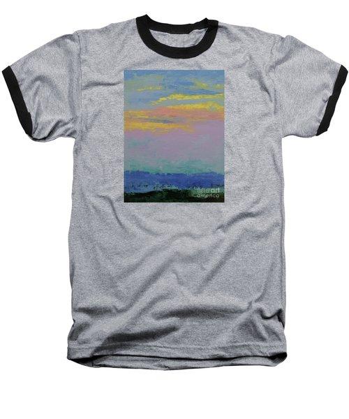 Harbor Sunset Baseball T-Shirt by Gail Kent