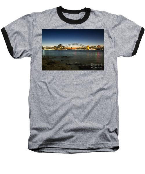 Harbour Night Baseball T-Shirt